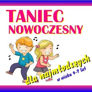 Ogłaszamy nabór na zajęcia taneczne dla najmłodszych