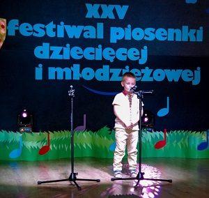 XXV Festiwal Piosenki Dziecięcej i Młodzieżowej