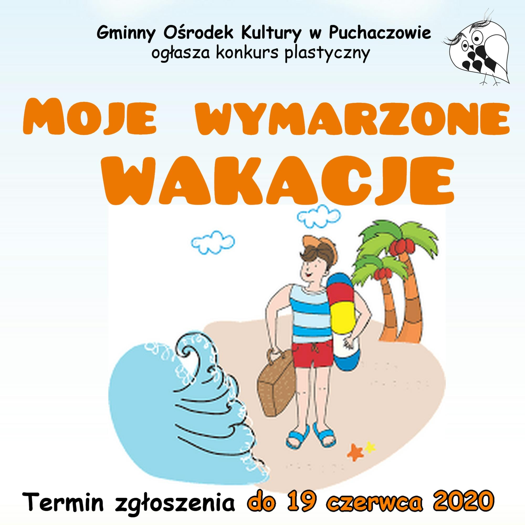 Konkurs plastyczny dla dzieci i młodzieży z Gminy Puchaczów