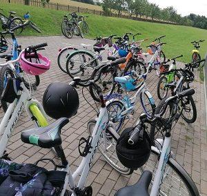 Relacja z rajdu rowerowego (Nadrybie)